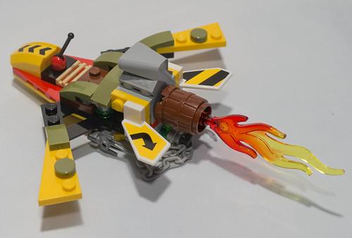 REVIEW LEGO 79122 TMNT - L'échappée de la tanière de Shredder