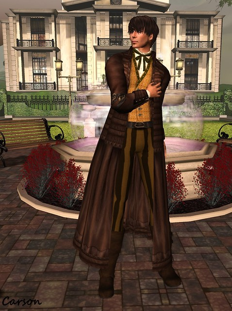 BlakOpal Designs - Brown Hawkesworth Outfit  .