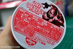 Char Zaku Nissin Cup Gunpla 2011 OOTB Unboxing Review (17)