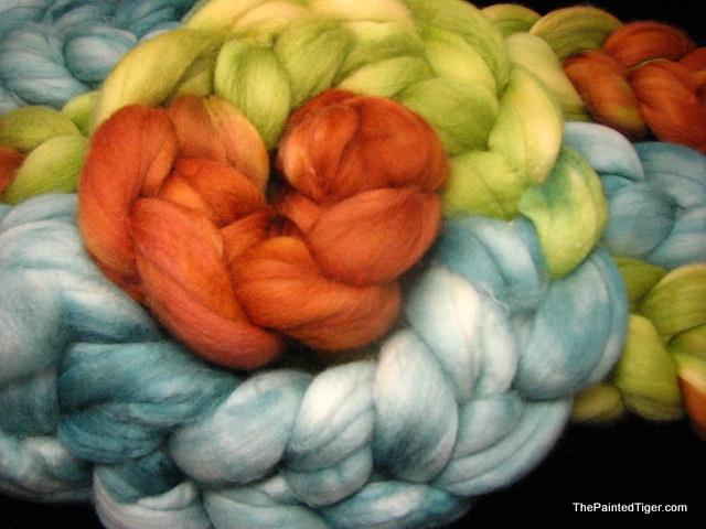Cascade Gradient - Superwash Merino Wool Roving