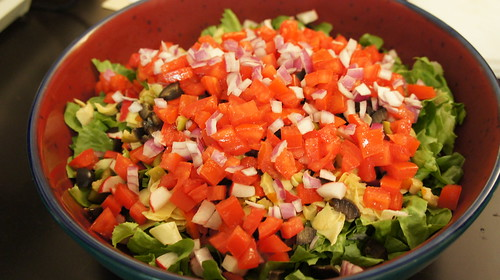My Famous Chopped Salad