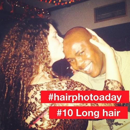 #hairphotoaday #pantene #10 Long Hair. Ireland circa 2002.