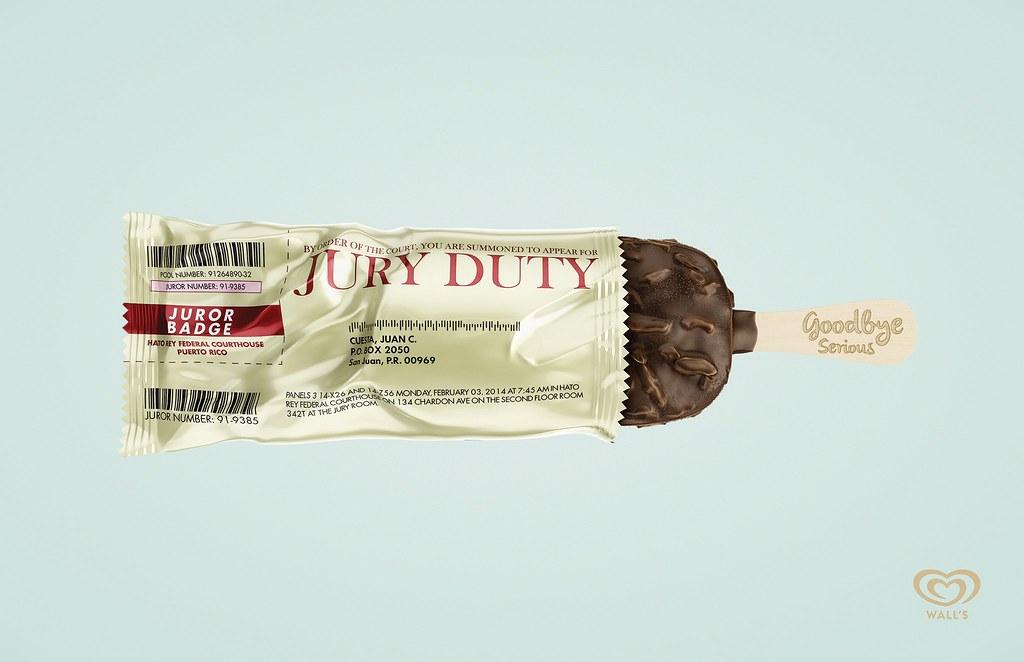 Wall's - Jury duty