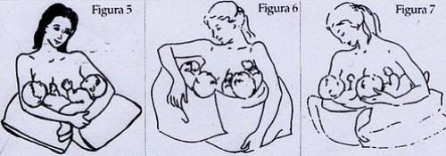 allattamento con cuscino