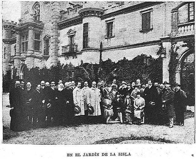 Palacio de la Sisla. Fotografía publicada en mayo de 1928 en la Revista Toledo