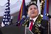 Governor Eddie Calvo