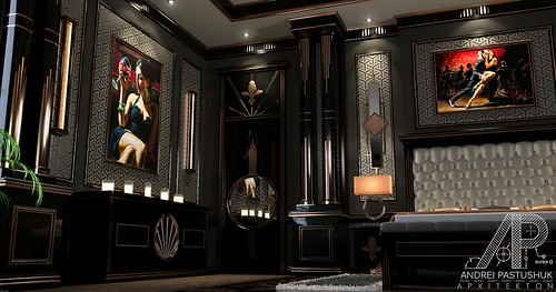 Art Deco Master Bedroom  My WIP workinprogress with
