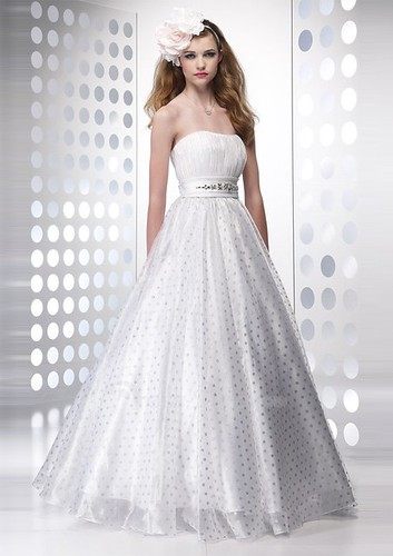 Satin-Strapless-Ball-Gown-2011-Cheap-White-Prom-Dress-with-Dotted-Skirt-and-Belted-Rhinestone-Embellished-Waist