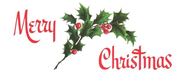merry christmas vintage graphic