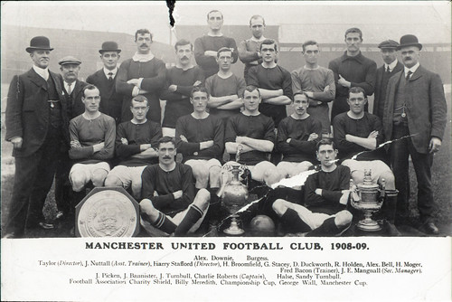 'Manchester United Football Club, 1908-09'