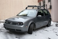 OEM Volkswagen Golf GTI Roof Rack with Ski Attachment