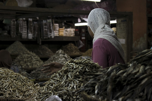 dried fish lady