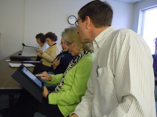 VSU LIR - Intro to iPad Class - Andy Brovey