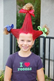 crazy hair day with allison bee
