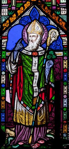Our Lady's Island Church of the Assumption: East Aisle Window, Saint Patrick