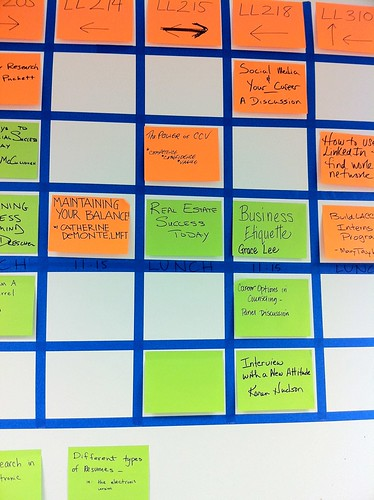 CareerCampLA-2 Schedule Board