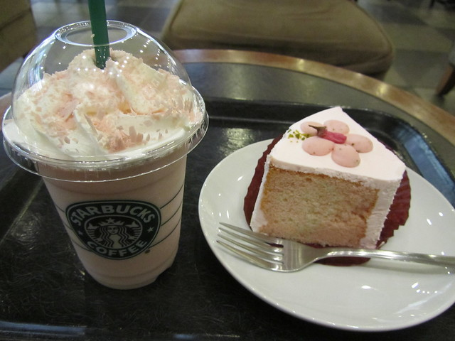 Sakura time at Starbucks