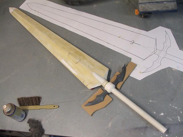Clares Schwert WIP