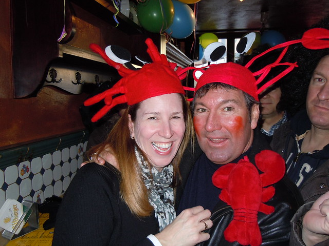 my Crab Hat twin!