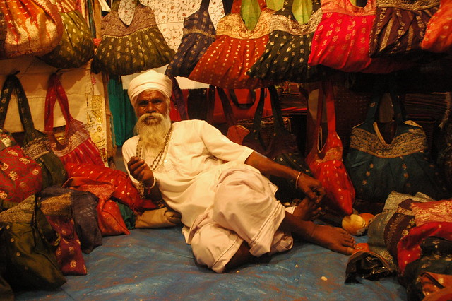 Balbir Singh, Night market, Goa, India