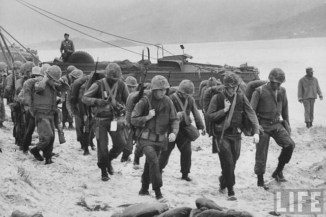 US Marines landing in Da Nang 1965  Flickr  Photo Sharing