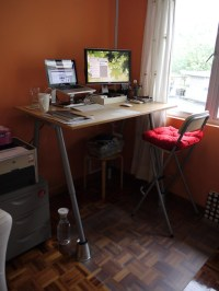DIY IKEA Standing Desk Hack  adventures of a blogjunkie