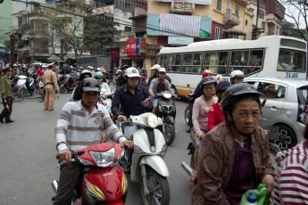 Straßenecke Hang Gai