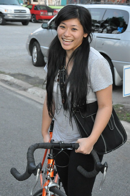 Asian Female Cyclist 201 Flickr Photo Sharing