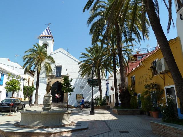 Plaza de la Iglesia del Santo Cristo