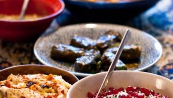 Baba ganoush en andere heerlijke mezze