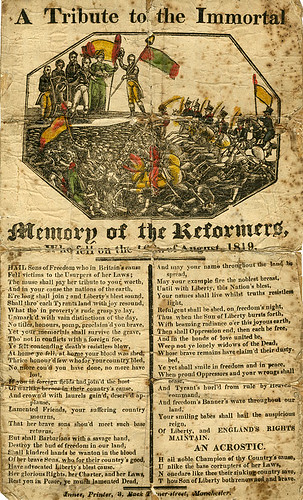 A tribute to the Immortal Memory of the Reformers, 1819