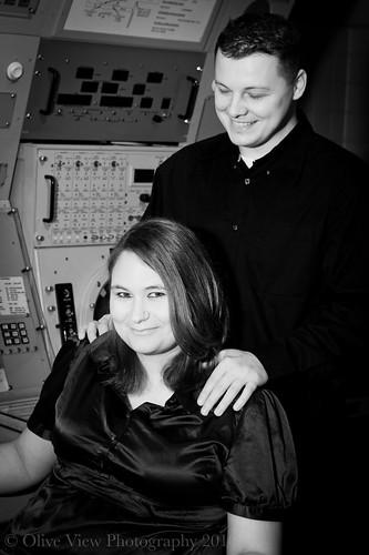 Karin and Scott (B&W)-3 by slvrwhispr
