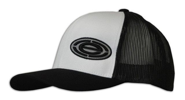 white black snap back 104c