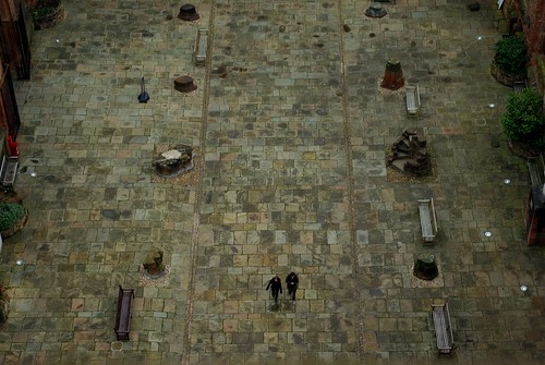 20120129-61_Looking Small in  Coventrys Old Cathedral from The Spire by gary.hadden