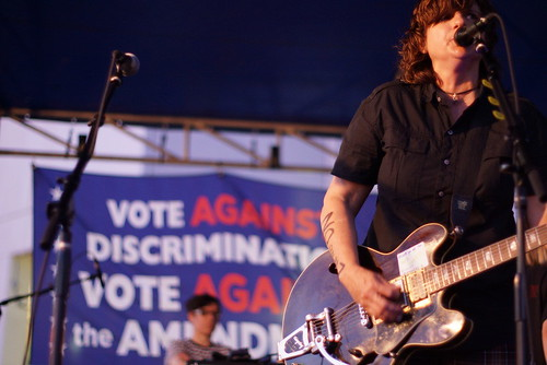 Amy Ray, Pinhook Outdoor Stage, Durham NC, 05/06/12