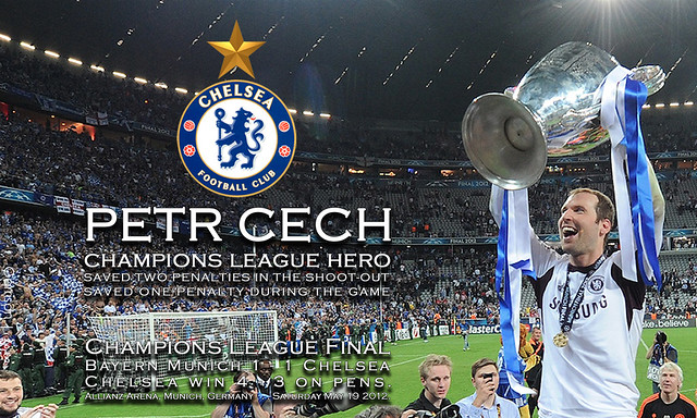Petr Cech Champs League Hero - PC & Smart Phone Screen