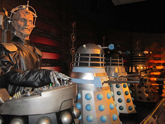 Davros and Daleks by Bad Wolf Babe