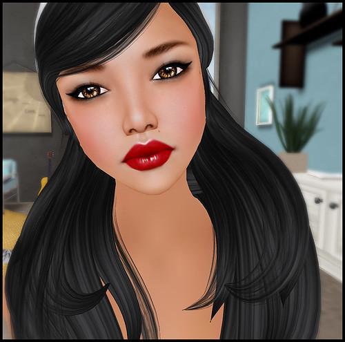 Dark Vibrant Lipstick AD