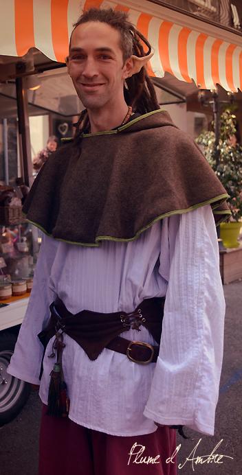 defile medieval elfe