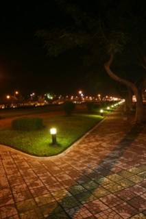 Phnom Penh's parks at night 2