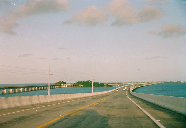 Florida in 1992 The Overseas Highway in The Florida Keys