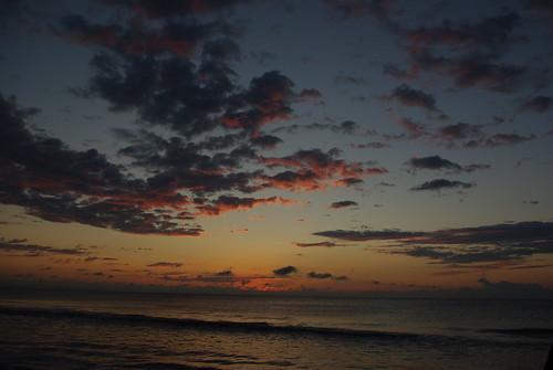 sunrise on Jekyll Island