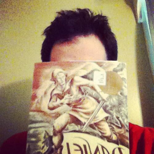 #Bookaday Daniel Boone by James Daugherty 1940 #nerdbery. @mrschureads
