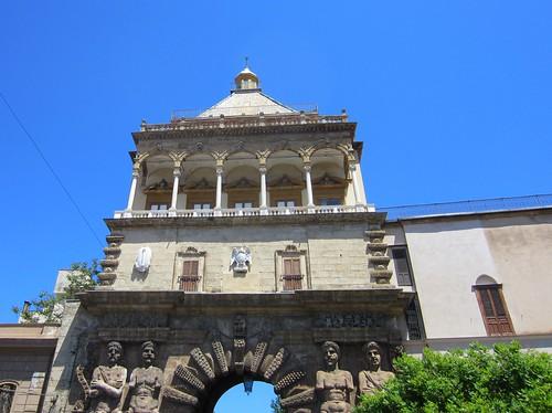 top of the porta nuova