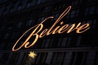 Macys - Believe