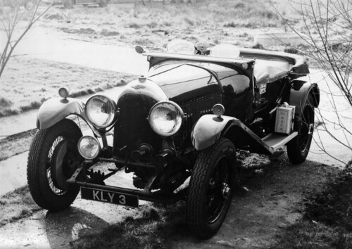 Vintage Bentley - Photo taken c. 1967 by H*B