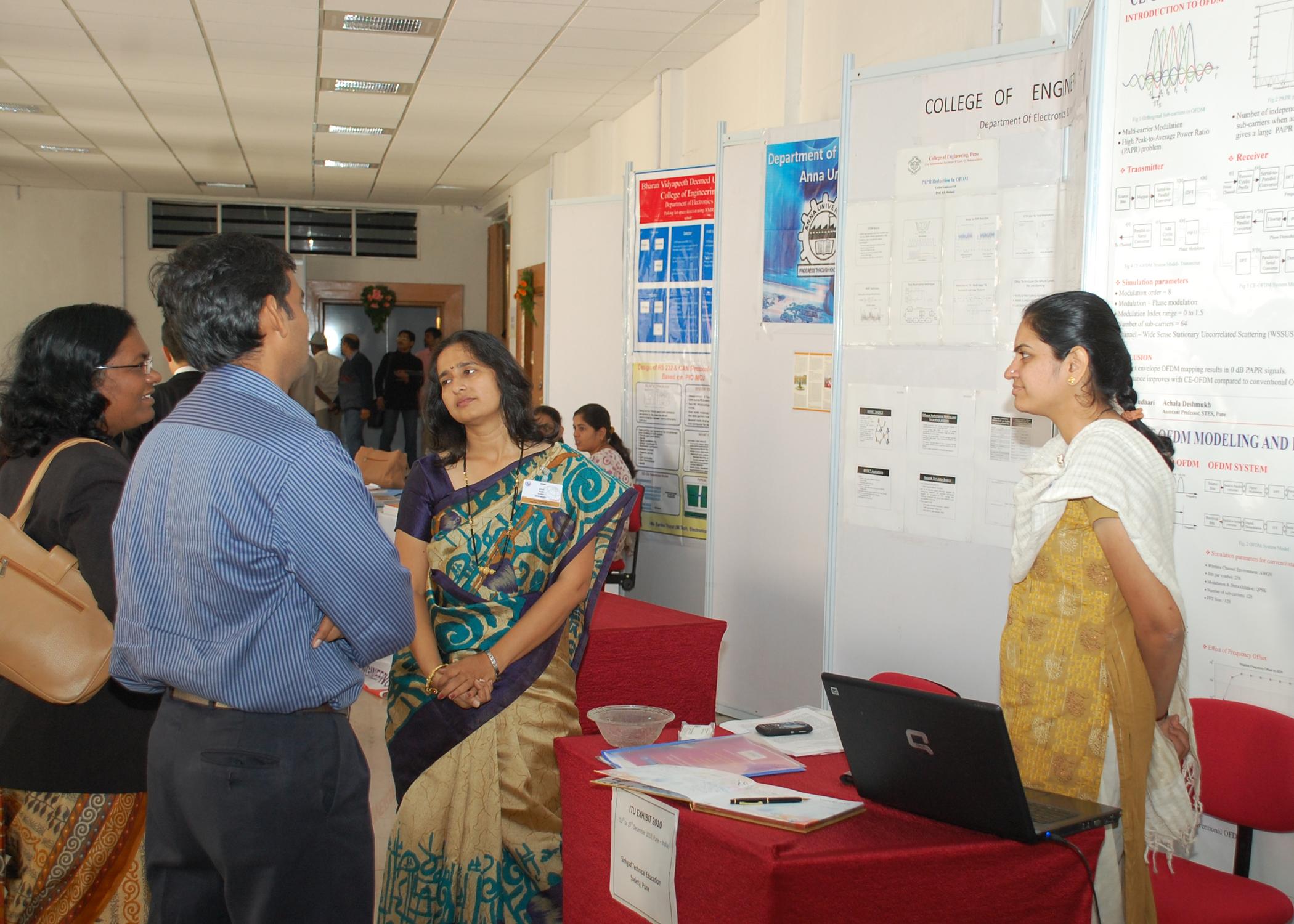 Local University Exhibition at ITU Kaleidoscope 2010, Pune, India
