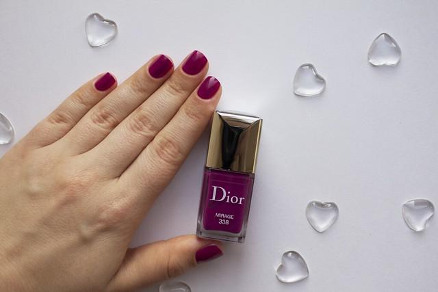 25 Dior 338 Mirage swatches