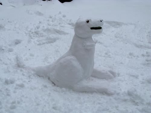 My Snownosaur