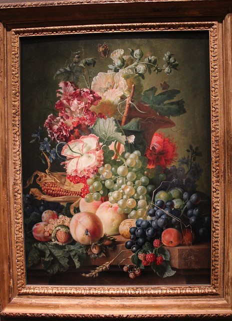 Still Life with Fruit and Flowers; van Brussel (1787)